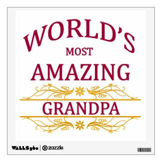 Amazing Grandpa Wall Sticker