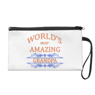 Amazing Grandpa Wristlet