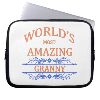 Amazing Granny Laptop Sleeve