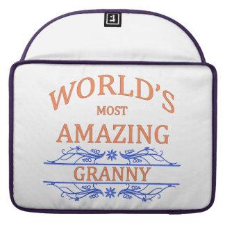 Amazing Granny Sleeve For MacBook Pro