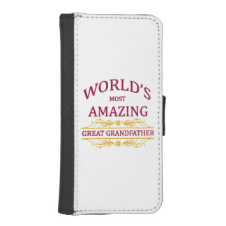 Amazing Great Grandfather iPhone SE/5/5s Wallet