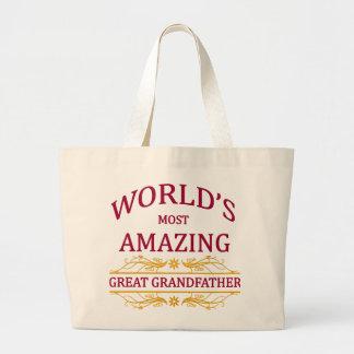 Amazing Great Grandfather Jumbo Tote Bag