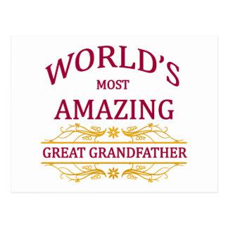Amazing Great Grandfather Postcard
