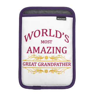Amazing Great Grandfather Sleeve For iPad Mini