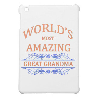 Amazing Great Grandma iPad Mini Cases