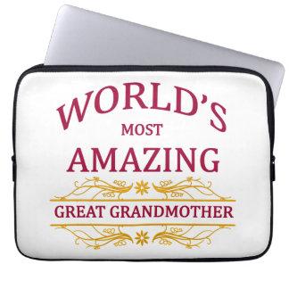 Amazing Great Grandmother Computer Sleeve