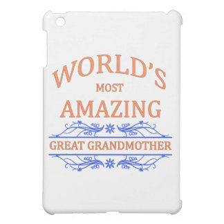 Amazing Great Grandmother iPad Mini Cover