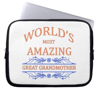 Amazing Great Grandmother Laptop Sleeve