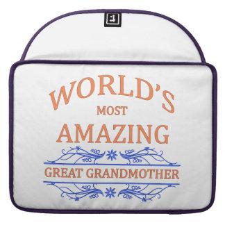 Amazing Great Grandmother MacBook Pro Sleeve