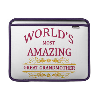Amazing Great Grandmother Sleeve For MacBook Air
