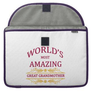 Amazing Great Grandmother Sleeve For MacBooks