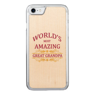 Amazing Great Grandpa Carved iPhone 7 Case
