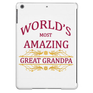 Amazing Great Grandpa Case For iPad Air
