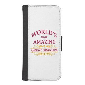 Amazing Great Grandpa iPhone SE/5/5s Wallet Case