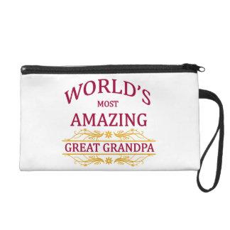 Amazing Great Grandpa Wristlet Clutch