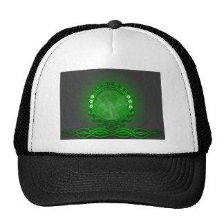 Amazing green design trucker hat