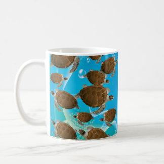 Amazing Green Sea Turtles Coffee Mug