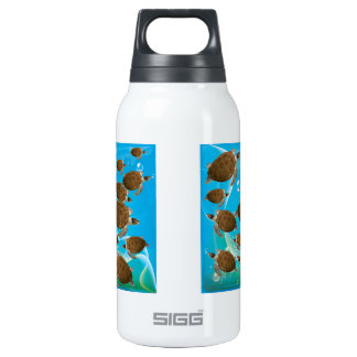 Amazing Green Sea Turtles Insulated Water Bottle