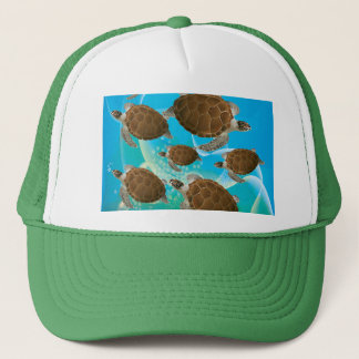 Amazing Green Sea Turtles Trucker Hat