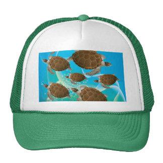 Amazing Green Sea Turtles Trucker Hat