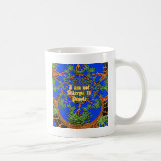 Amazing Hakuna Matata I am not allergic to people  Coffee Mug