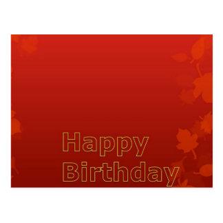 Amazing Happy Birthday Collection Postcard