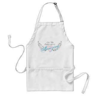 Amazing Heart and Wings Adult Apron