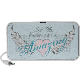 Amazing Heart and Wings Speaker System