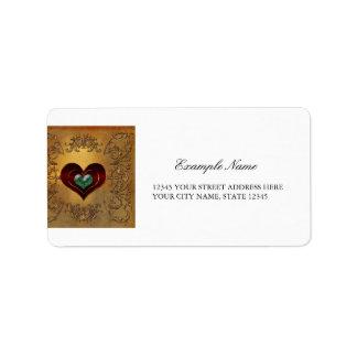 Amazing hearts label