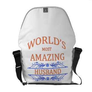 Amazing Husband Courier Bags