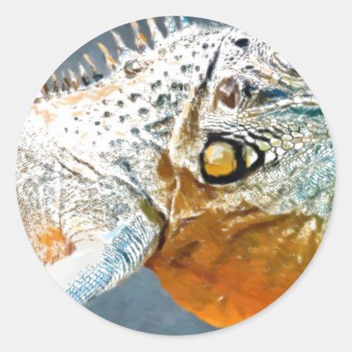 Amazing-Iguana1 art2 Etiqueta