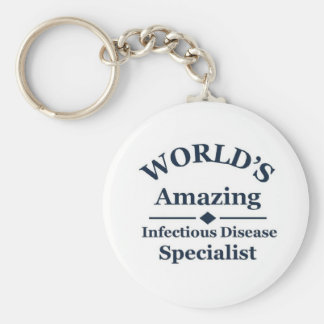 Amazing Infectious Disease Specialist Keychain