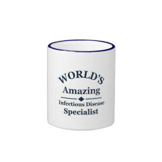 Amazing Infectious Disease Specialist Ringer Coffee Mug