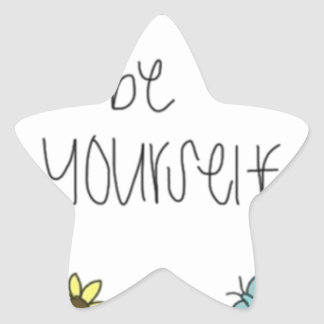 amazing inspiration with nice illustration star sticker