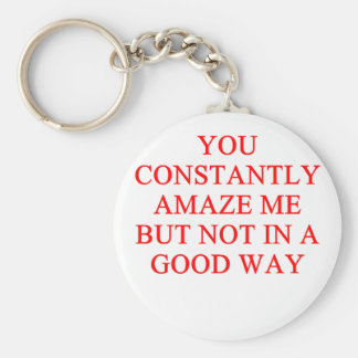 amazing insult key chains