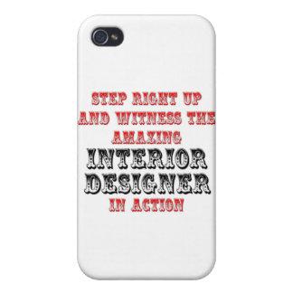 Amazing Interior Designer In Action Case For iPhone 4