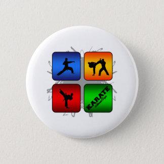 Amazing Karate Urban Style Button