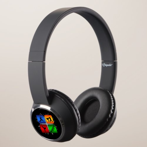 Amazing Karate Urban Style Headphones