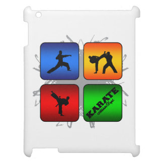 Amazing Karate Urban Style iPad Case