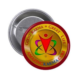 Amazing Karma Logo Button