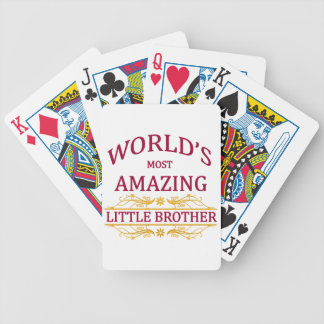 Amazing Little Brother Bicycle Playing Cards