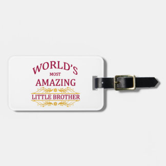 Amazing Little Brother Tag For Luggage