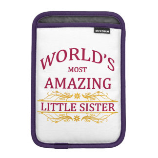 Amazing Little Sister iPad Mini Sleeve