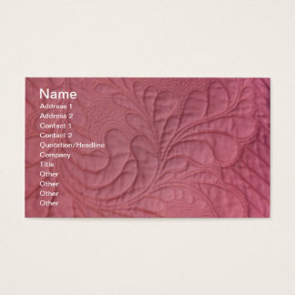 Amazing Machine Quilting , Name, Address 1, Add... Business Card