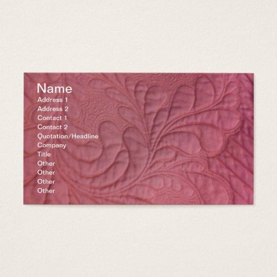 Amazing Machine Quilting , Name, Address 1, Add... Business Card