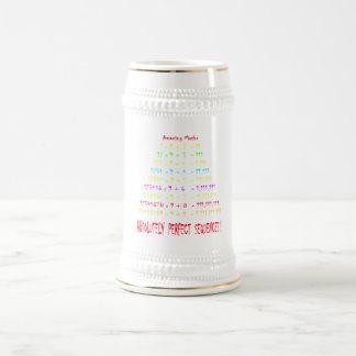 Amazing Maths Series 2 Beer Stein