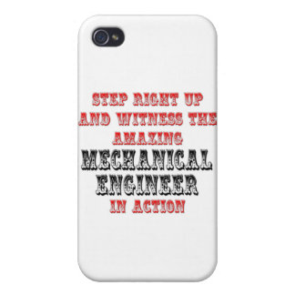 Amazing Mechanical Engineer In Action iPhone 4/4S Cases