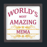 "Amazing Mema Gift Box<br><div class=""desc"">Such a fun design to honor the world&#39;s most amazing mema with.</div>"