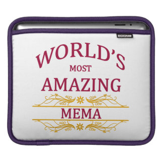 Amazing Mema iPad Sleeve