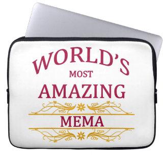 Amazing Mema Laptop Sleeve